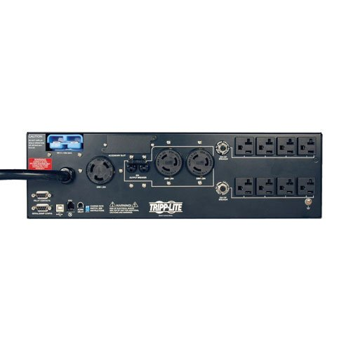 Tripp Lite 5000VA 3750W UPS Smart Rackmount AVR 120V/208V 5kVA USB DB9 3URM, 11 Outlets, 2 & 3 Year Warranties, $250,000 Insurance (SMART5000XFMRXL)