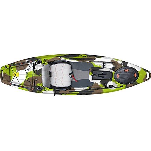 Feel Free Lure 10 Kayak - Lime Camo