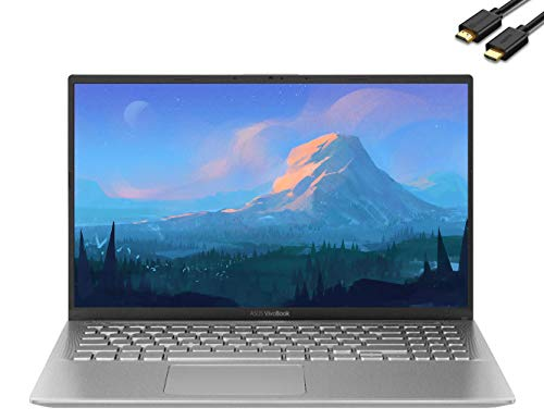 2020 ASUS VivoBook 15.6' FHD (1920 x 1080) Premium Laptop (AMD Quad-Core Ryzen 5-3500U(Beat i7-7500U), 20GB RAM, 512GB SSD) Radeon Vega 8 Graphics, HDMI, Type-C, Windows 10 + IST Computers HDMI Cable
