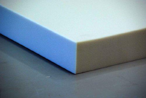Schaumstoff Plattenware 120 x 200 x 5 cm sehr feste und langlebige Qualität (RG40 SH60)