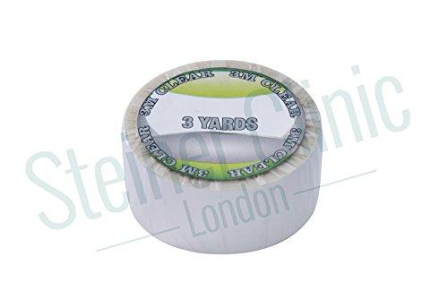 Walker Tape Ruban quotidien Ruban adhésif transparent Rouleau 3/10,2 cm x 3 yrds
