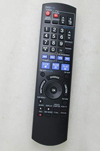 Replacement Remote Control for Panasonic DMR-EZ48V DMR-ES46VS DMR-EA38VK DMR-ES18 DVD Player