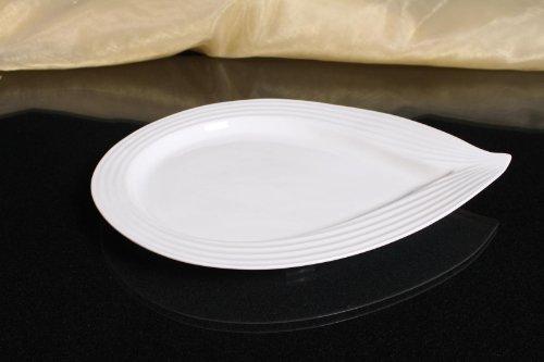TELLER Servierteller Flachteller Porzellan Weiß Gastronomiebedarf Ø36/28