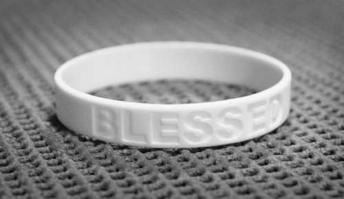 afijo Nueve recurso  Pure Essence Health Blessed White Silicone Wristbands- Buy Online in  Mongolia at mongolia.desertcart.com. ProductId : 1202934.