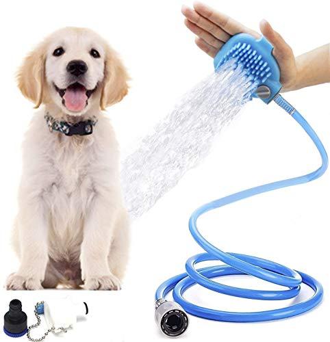 EU huisdier hond kat bad douche water sproeier hoofd baden schoonmaken gereedschap siliconen massage douchekop