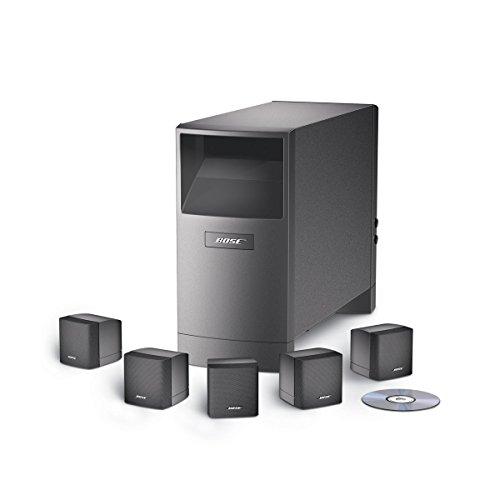 Bose® Acoustimass 6 Sistema Diffusori Home Cinema, Nero