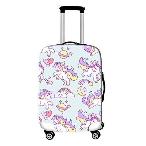 YiiJee Kofferschutz Luggage Cover Elastic Gepäck Schutz-Koffer Abdeckung Für Beutel 18-28 Zoll Als Bild7 L