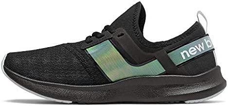 New Balance Women's FuelCore Nergize Sport V1 Sneaker, Black/Iridescent, 7