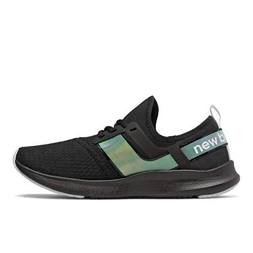 New Balance Women's FuelCore Nergize Sport V1 Sneaker, Black/Black, 7