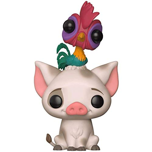 Funko Pop Movie : Moana - Pua and Hei Hei 3.75inch Vinyl Gift for Anime Fans SuperCollection