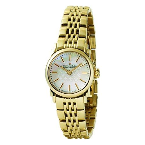 Dreyfuss & Co DLB00048-41 - Reloj para Mujeres, Correa de Acero Inoxidable Color Dorado