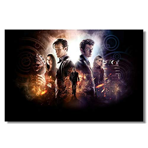 Doctor Who TV New Season 10 Day of Silk Poster Art Dormitorio Decoración Arte de la Pared Pintura Decoración del hogar Obra de Arte impresión en Lienzo -60x80CM sin Marco