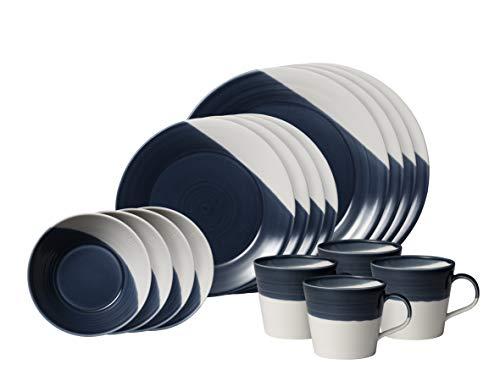 Royal Doulton Bowls of Plenty Dinnerware Set, Dark Blue
