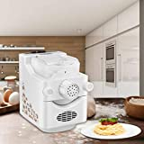 Automatic Electric Pasta and Ramen Noodle Maker Machine, Make 1 Pound of Homemade Noodles For Making...