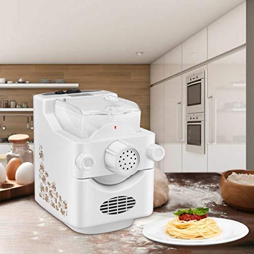 4YANG Máquina para Hacer Pasta eléctrica Máquina automática para Hacer Fideos Multifuncional para el hogar para Pasta Fresca Spaghetti Macaroni Dumpling Wrapper Fettuccine