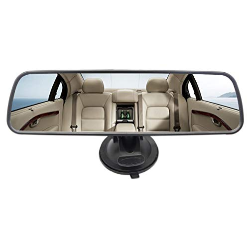 Heart Horse Specchietto retrovisore Interno Auto, specchietto retrovisore Universale per Camion Auto, specchietto retrovisore a Ventosa con Ampio Campo visivo, Specchio Piatto grandangolare