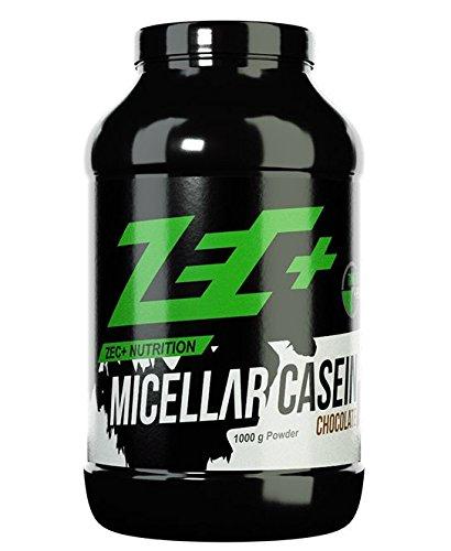 ZEC+ Micellar Casein Proteinpulver, Eiweißpulver mit Aminosäuren, ideal für die Einnahme am Abend, Geschmack Vanille