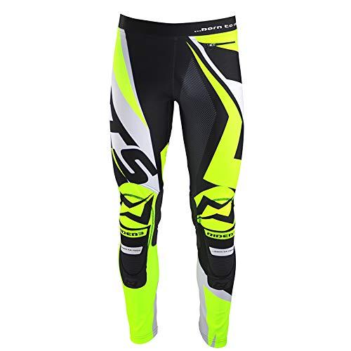 Mots MT3112MY Trial Rider3 Pantalon, Amarillo Fluo, Talla M
