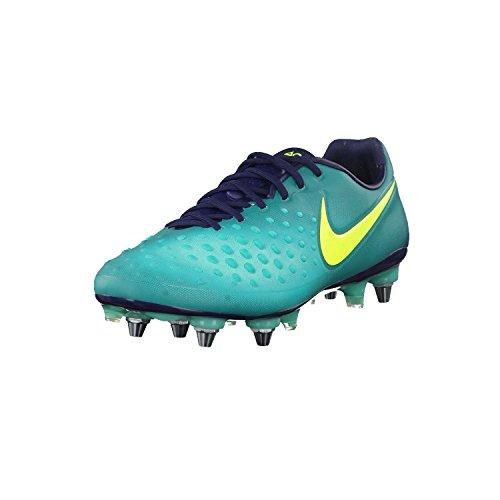Nike Herren Magista Opus II SG-PRO Fußballschuhe, türkis/Neongelb, 41 EU