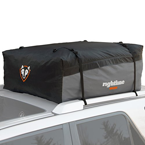 Rightline Gear 100S20 Sport 2 Car Top Carrier, 15 cu ft, Waterproof, Attaches With or Without Roof Rack
