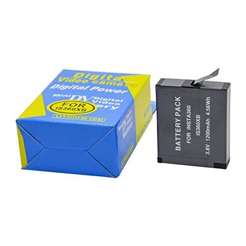 Batería Recargable de Iones de Litio para Insta360 One X 1200mAh 3.8V...