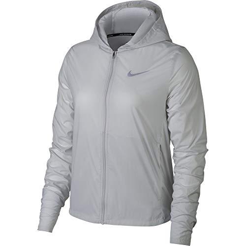 Nike Shield Convertible Running Jacket, Gray, Women's, S