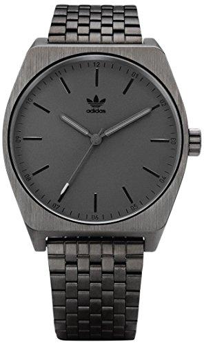 Adidas Herren Analog Quarz Uhr mit Edelstahl Armband Z02-680-00