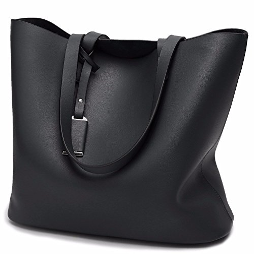 Womens Purses and Handbags Ladies Tote Bags,Black