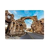 Seite Antike Stadt Antalya Provinz Naturmalerei Vintage