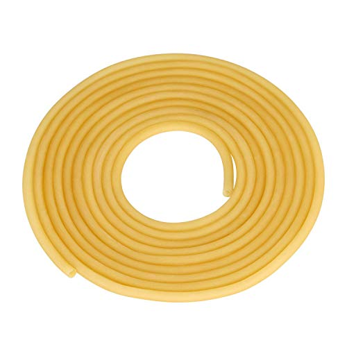 TEN-HIGH Tubo de Latex Manguera Flexible de Goma Tubo Flexible Latex, Diá 6mm x 9mm Longitud de 5m