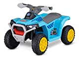 Kid Trax Nickelodeon's Paw Patrol Toddler Quad Electric Ride On Toy, 18-30 Months, 6 Volt, Max Weight 44 lbs, Blue (KT1591AZ)