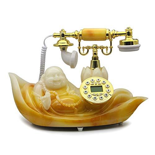 Teléfono creativo decorativo retro Fijo fijo teléfono clásico teléfono vintage teléfono teléfono teléfonos sala de estar estudio retro decoración casa oficina telefono Oficina Regalos / Decoraciones /