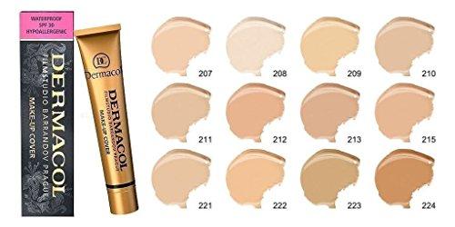 Dermacol Make-up Cover – Wasserdichte hypoallergene Grundierung 30 g Original
