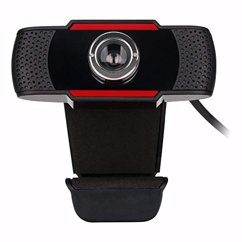 JSX USB HD Gaming Webcam, 480P met Microfoon Mic 12M Pixels Pro Web Camera voor Laptops Computer Camera Conferentie