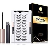 10-Pairs Affasgirl Magnetic Eyelashes with Eyeliner