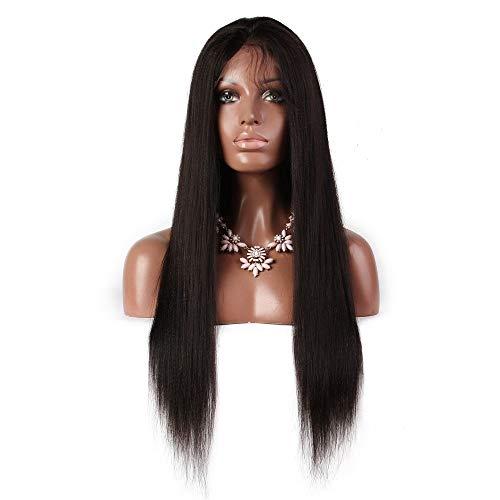 ZhiGe Lace perücke,Ehemalige Spitze echte Haarperücke Kopfbedeckungen-weibliche Natur