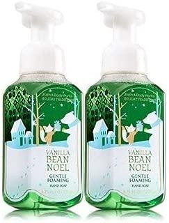 Bath&body Works Gentle Foaming Hand Soap Vanilla Bean Noel Pack of 2
