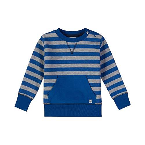 Sanetta Sanetta Baby-Jungen Sweatshirt, Blau (Azure 5808.0), 62