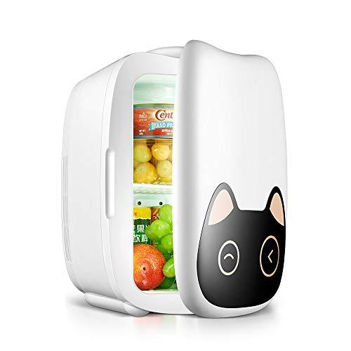 Moderne, compacte mini-koelkast, koelt en verwarmt 6 liter huishoudelijke stopcontact en autolader, al 12 jaar vrouwelijke Dormitorio belangrijke elementen voor de zomer NYG.