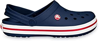 Crocs Crocband Shoe Navy, All The Comfort of a Classic but with a Retro Look UK 5 / USA M5-W7