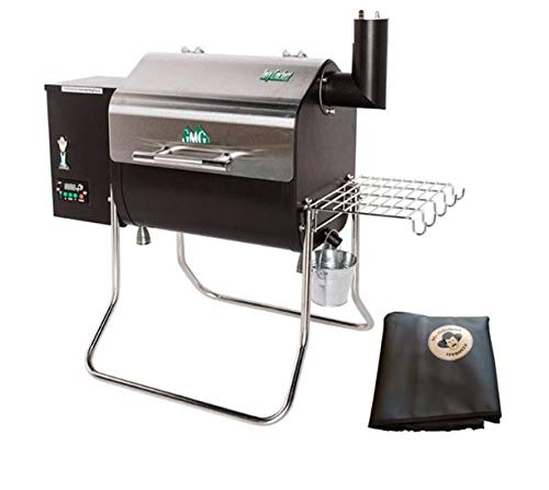 GMG 2018 Green Mountain Grill Davy Crockett Grill/Smoker With Cover - New Design