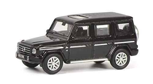 Schuco 452639600 452639600-Mercedes Benz G-Klasse, Modellauto, 1:87, schwarz Modellfahrzeug
