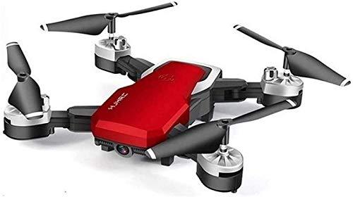 aipipl RC Gran Angular Selfie Quadcopter Altitude WiFi FPV Batería Larga con cámara 720P / 1080P / 4K 2.4GHz Deone con Bolsa de Almacenamiento, Rojo