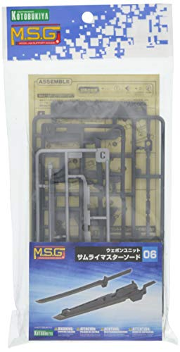 M.S.G モデリングサポートグッズ ウェポンユニット06 サムライマスターソード 全長約150㎜ NONスケール プラモデル