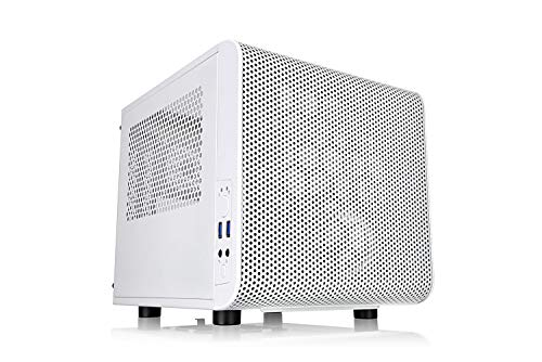 Adamant Custom 10-Core Liquid Cooled Mini-ITX Workstation Computer Intel Core i9-10900 2.8GHz (5.2Ghz Turbo) H470I Rog Strix 16Gb RAM 2TB NVMe 1800MB/s SSD 4TB HDD WiFi Bluetooth HDMi DisplayPort