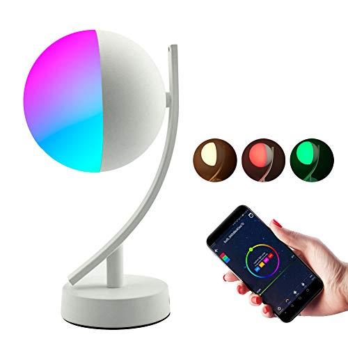 Caveman La AplicaciÓN De Wi-Fi Es Compatible con La PÁGina De Inicio De Google Alexa En Amazon, Entorno De AtenuaciÓN LED Activado por Voz con Manos Libres, Luz Nocturna De Color para Uso DomÉStico