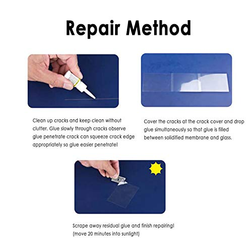 Automotive Glass Nano Repair Kit Windshield Repair Kit Durable Glass Repair Car Scratch Remover Windshield Glass Repair Tools