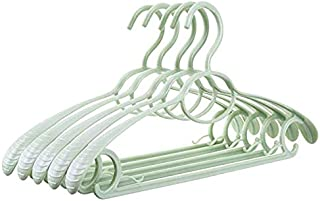 CYHWDHW 30-piece blue plastic multi-purpose coat wide shoulder strap hanger  strong standard hanger 1
