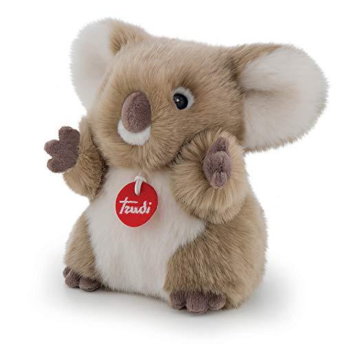Trudi- Koala S Peluche, Colore Grigio, 29009