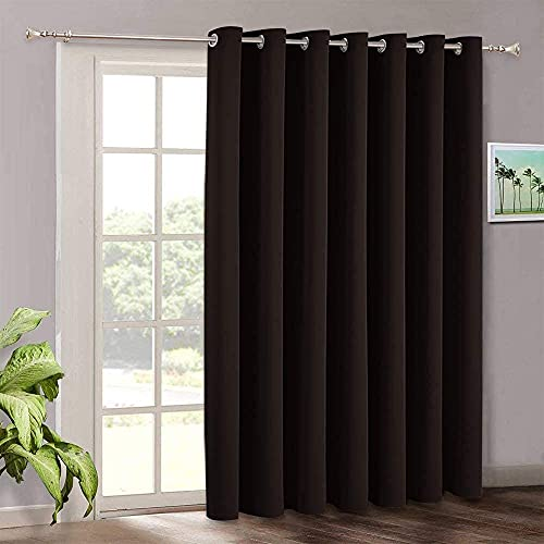 Vertical blinds for patio door - ryb home sunlight blackout extra...